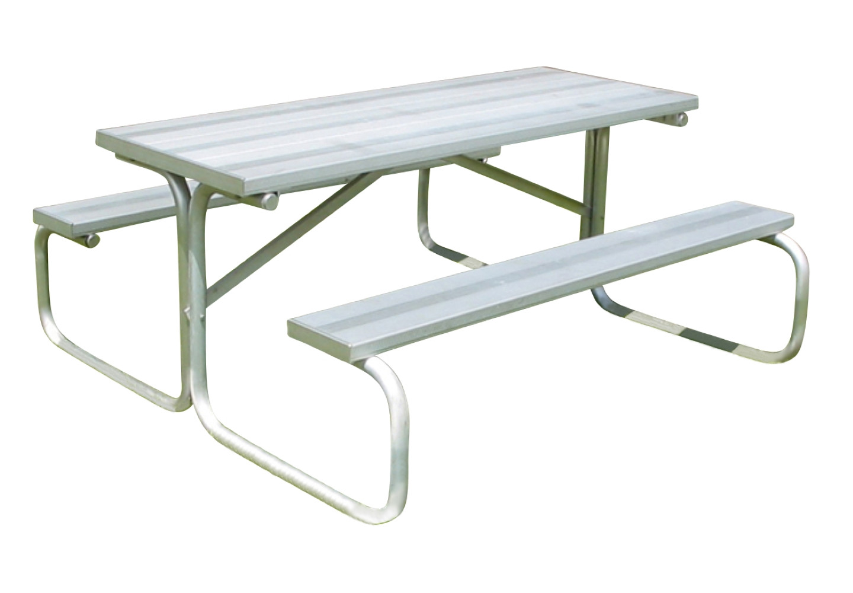All-Aluminum Picnic Table