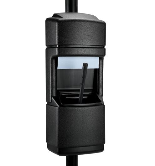 Windshield Service Center - Black Recycled High-Density Polyethylene