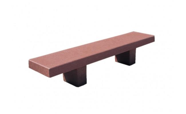 University Bench Reinforced Precast Concrete - 72Lx20Wx18H