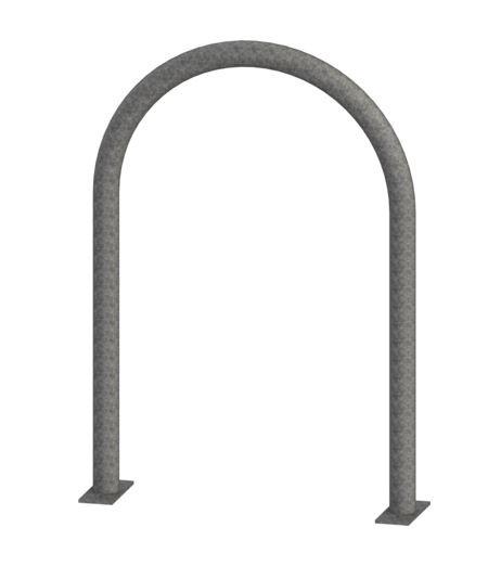 Radius Bike Rack - Galvanized