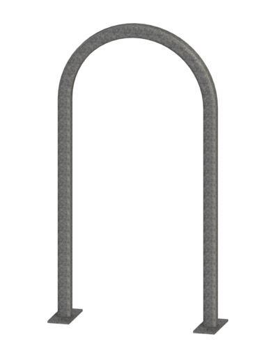 Radius Squared Bike Rack - Galvanized