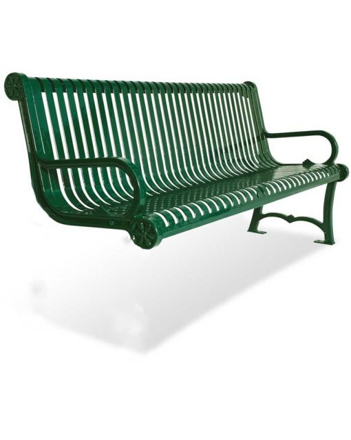Charleston ADD ON Bench with Back