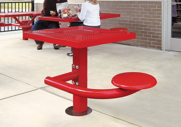 Canteen Picnic Table - 1 Seat