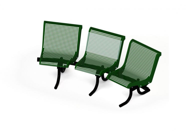 Concave Benches with back - 15 degree
