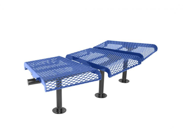 Convex Benches without back - 15 degree