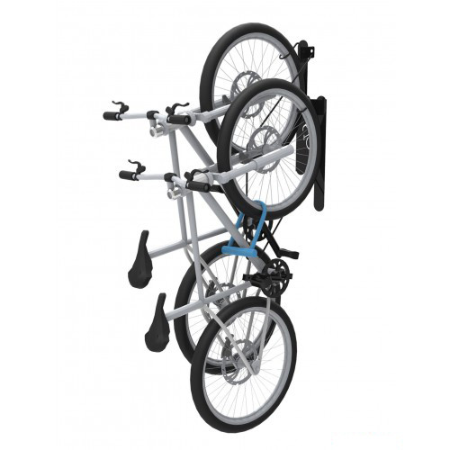 DoubleUp Wall-Mounted Bike Rack