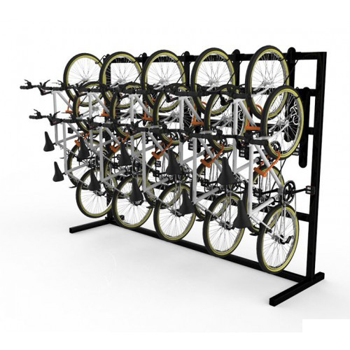 DoubleUp - Single Sided Free-Standing Vertical Bike Rack