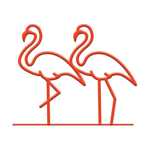 Flamingo Bike Rack