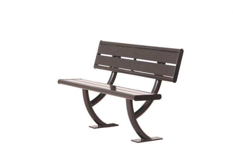 Hartford Bench with Backrest