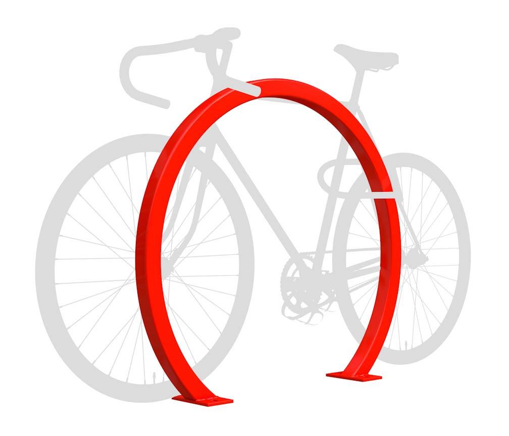 Horseshoe Bike Rack - Square Tube