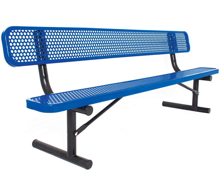 Everest Series 6-Ft. Park Bench with Back