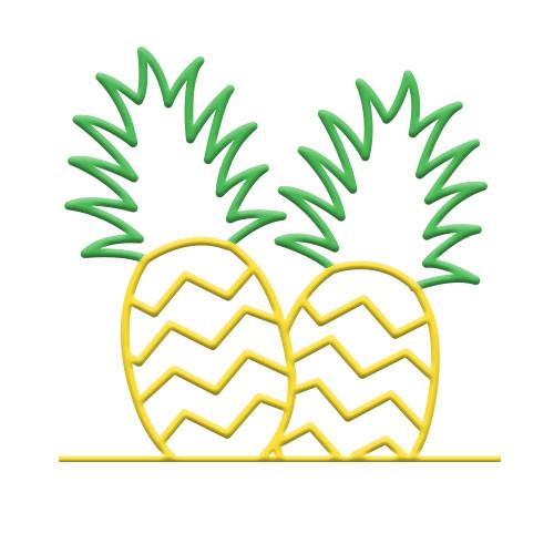 Pineapple Bike Rack