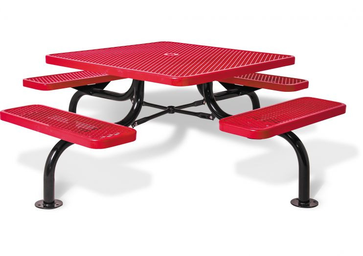 Square Span Leg Picnic Table