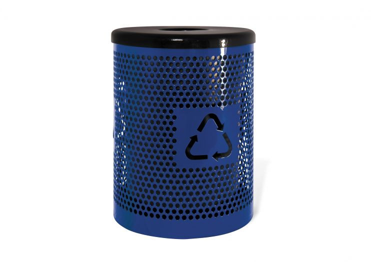 Standard Recycle Logo Trash Receptacle
