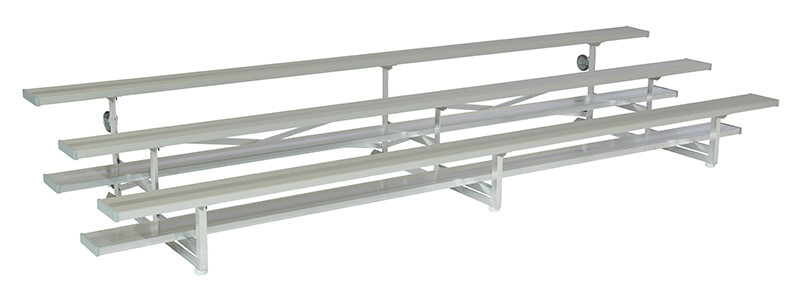 3 Row Tip and Roll Bleachers - Show and Stow Series
