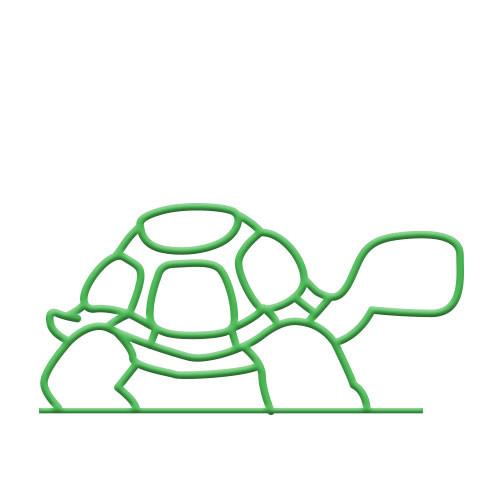 Turtle Bike Rack