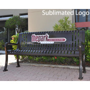 Memorial Park Benches Custom Logo Bench Engraved Benches The