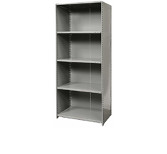 OPEN & CLOSED SHELVING