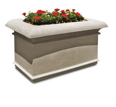 Commercial planters outdoor planters the park catalog concrete stone planters workwithnaturefo