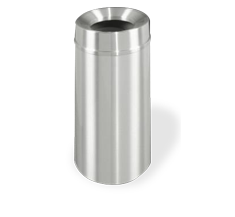 ALUMINUM TRASH RECEPTACLES