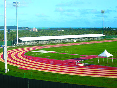 Custom Bleachers Track