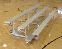 tip and roll aluminum bleacher small